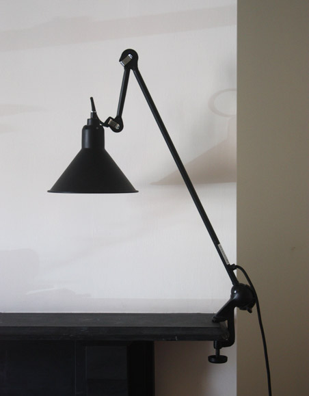 Gras model 201 clamp lamp