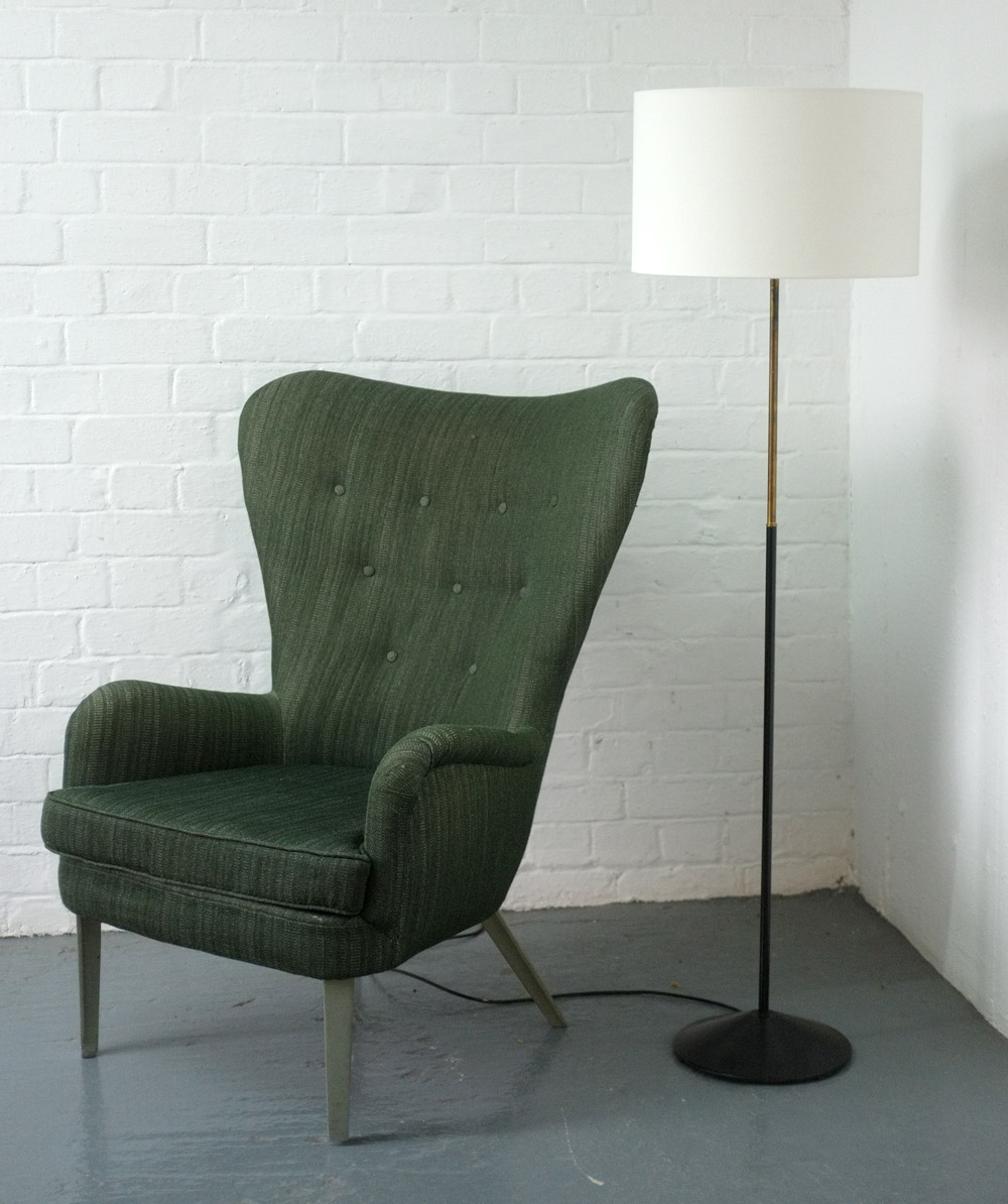1960s floor lamp by GA Scott for Maclamp