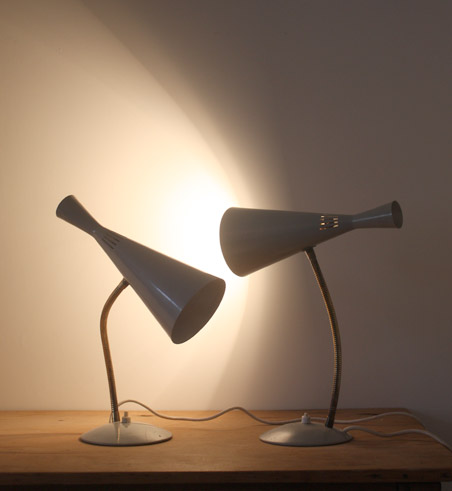 Maclamp table lamps by GA Scott