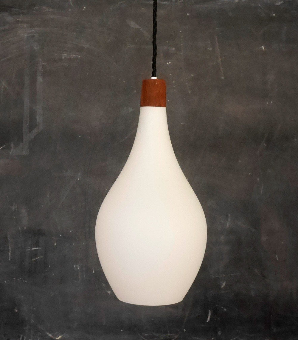 Scandinavian midcentury pendant lights