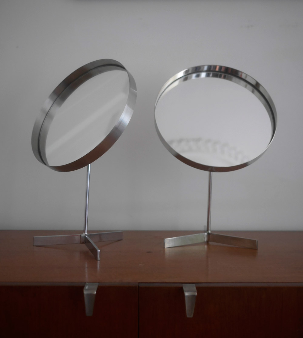 Pair of 1960s mirrors by Durlston Designs