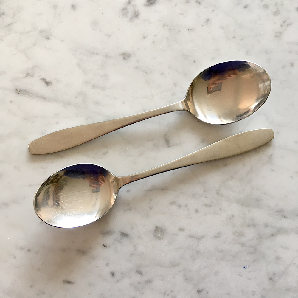 Spring cutlery by David Mellor/Robert Welch