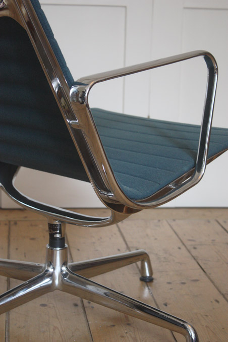 Eames aluminium lounge chair modern room 20th century design - Lounge chair eames prix ...