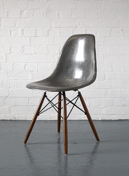 Eames DSW dowel base chairs