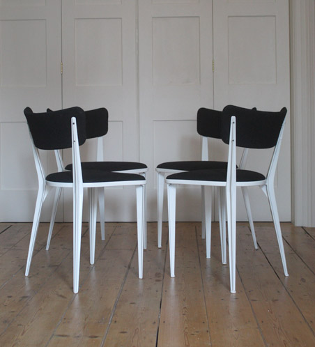 Ernest Race Ba 3 Chairs Modern Room 20th Century Design