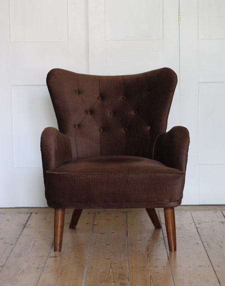 Ernest Race DA chair and sofa