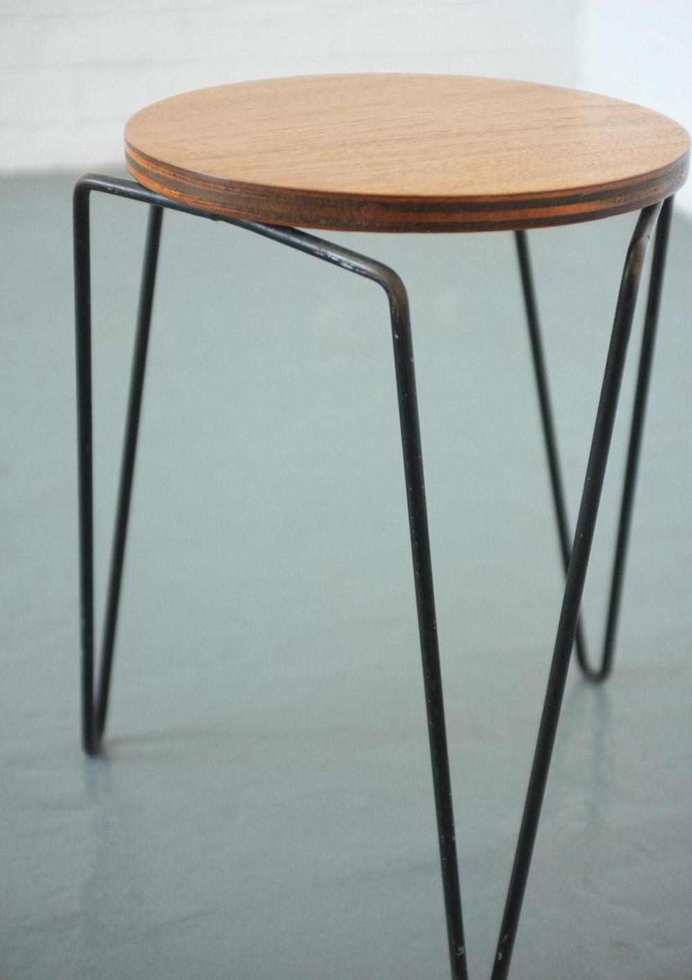 Florence knoll 75 stool table modern room 20th century for Table cuisine 75 x 75