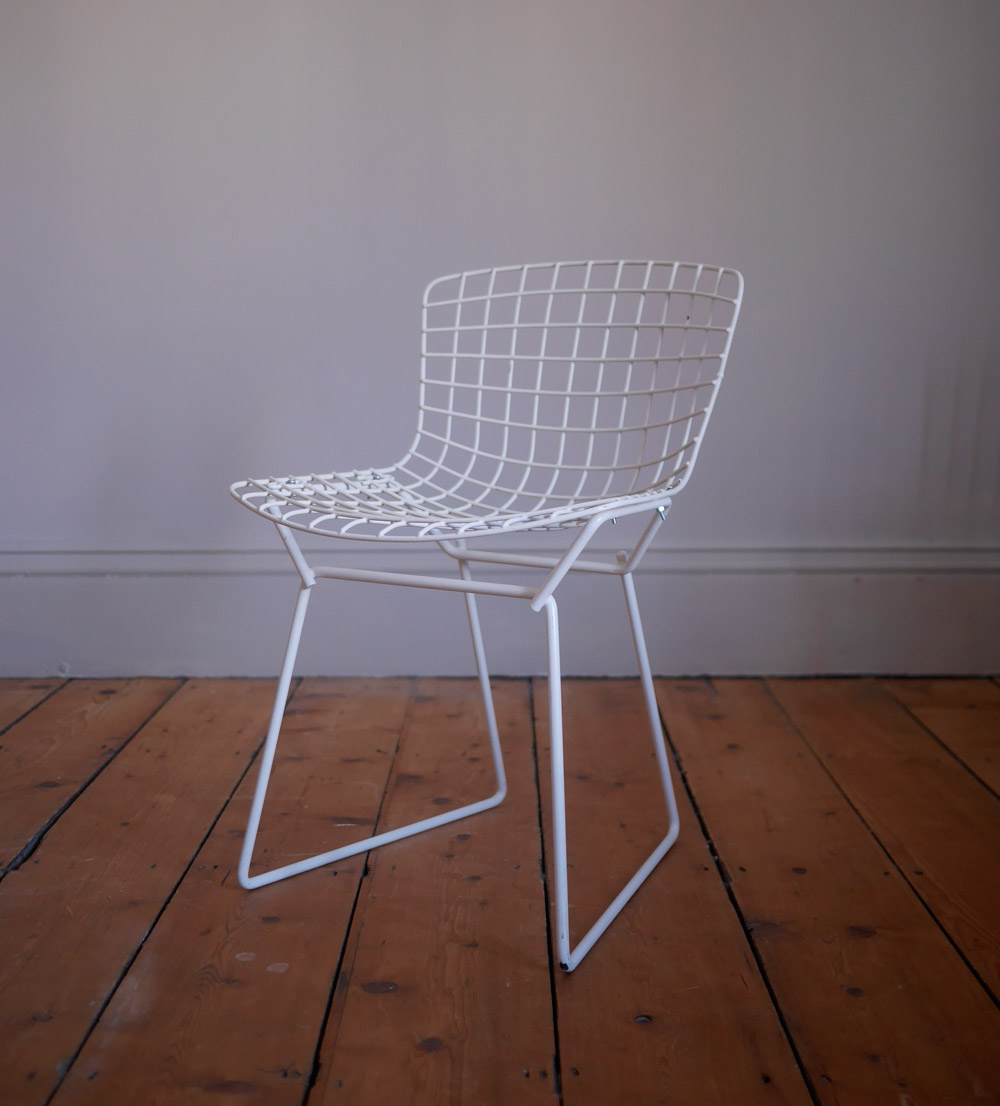 Vintage Harry Bertoia child's chair