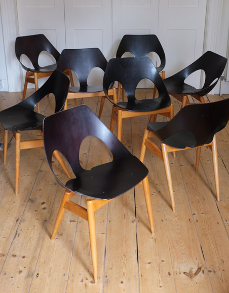 8 Carl Jacobs Jason chairs for Kandya