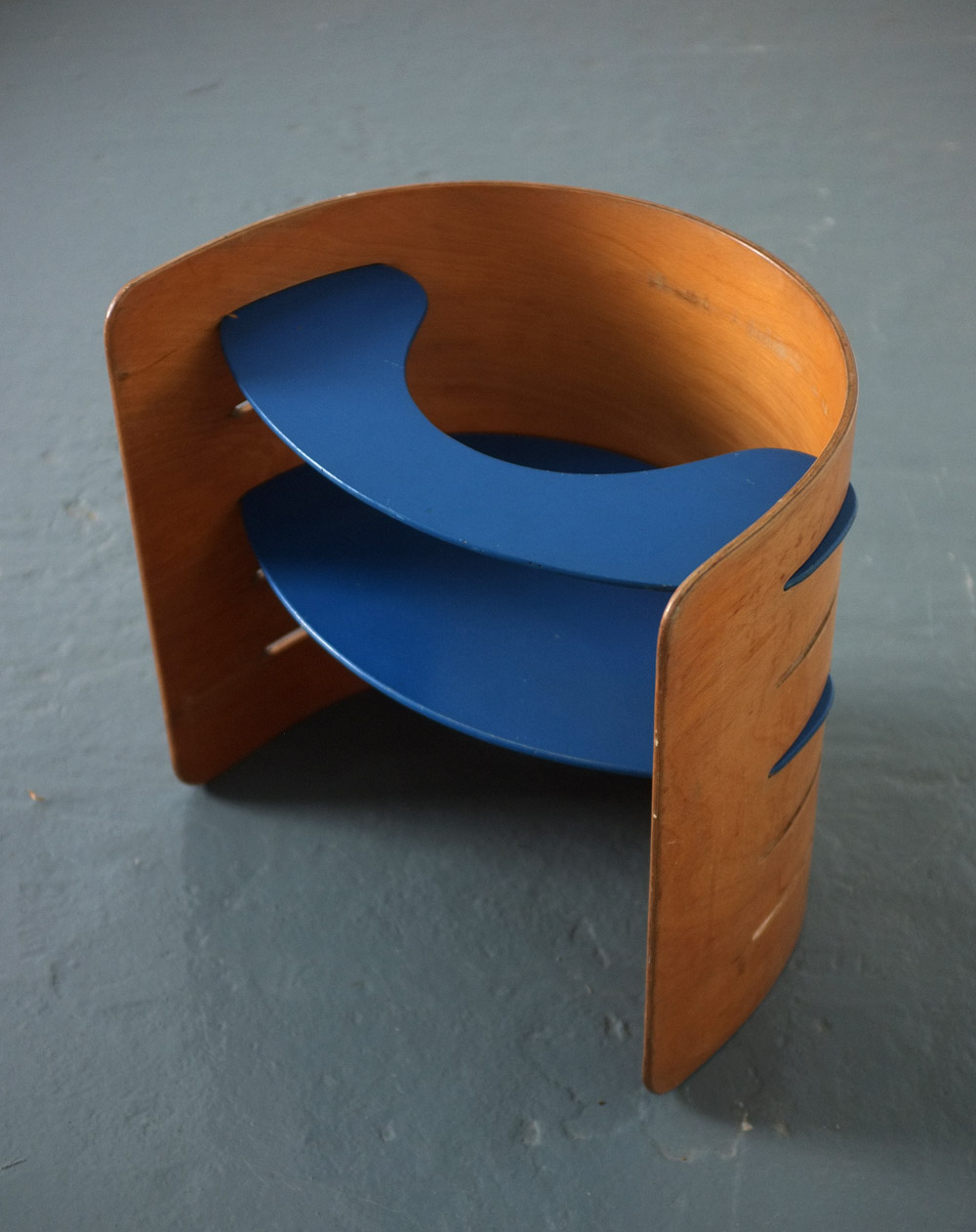 Plywood child's chair by Kristian Vedel