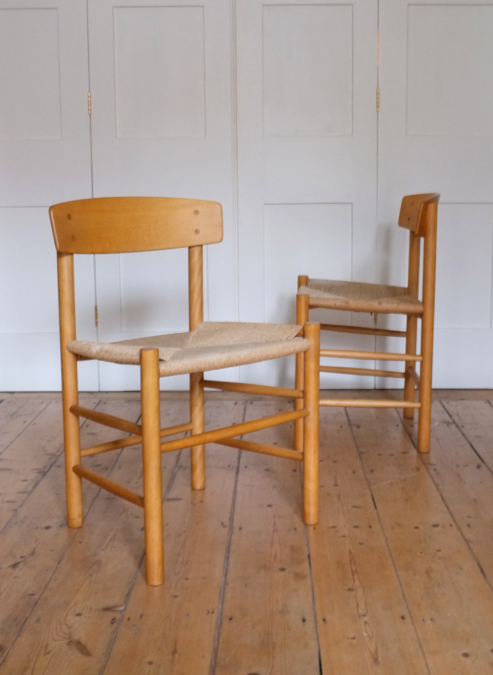 J39 shaker chairs by Borge Mogensen