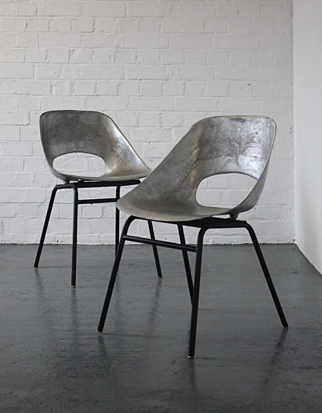 Pierre Guariche chairs