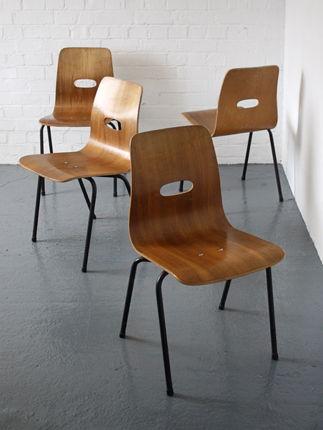 Robin Day Qstak chairs