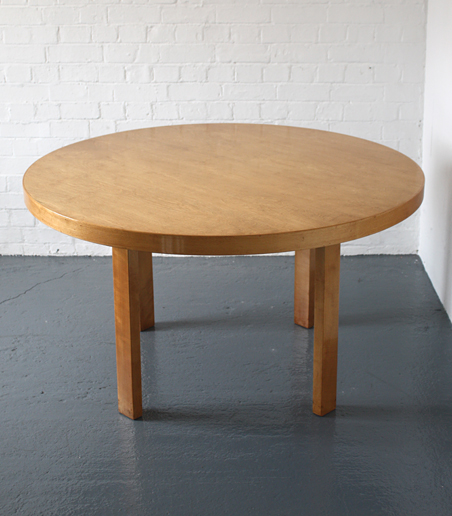 Alvar Aalto dining table, Finmar