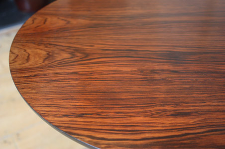 1960s rosewood tulip tables by Arkana