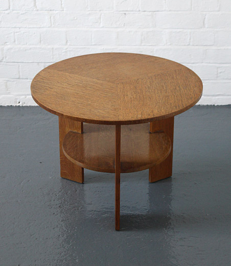 1930s coffee table made by Bowman Brothers