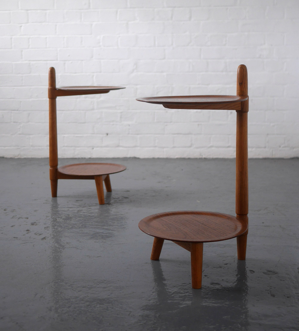 Danish 1950s side tables