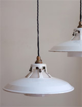 1930s Benjamin factory lights