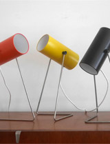 1960s John Brown lamps