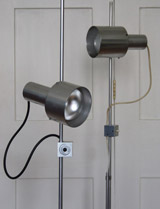 Peter Nelson floor lamps