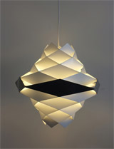 1950s Symfonie light by Preben Dal