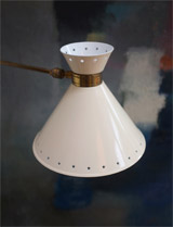 1950s Rene Mathieu wall lamp