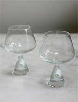 Brandy/Cognac glasses by Holmegaard