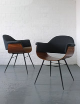 Carlo Ratti plywood chairs