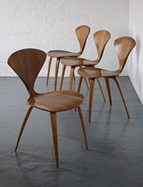 Cherner chairs by Norman Cherner
