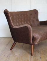 Ernest Race sofa and chair