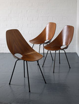 Medea chairs by Vittorio Nobili