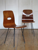 Robin Day Q-Rod chairs