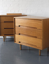 Stag chest of drawers by John and Sylvia Reid